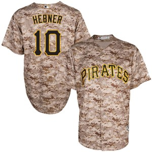 Youth Majestic Pittsburgh Pirates Richie Hebner Replica Camo Cool Base Alternate Jersey